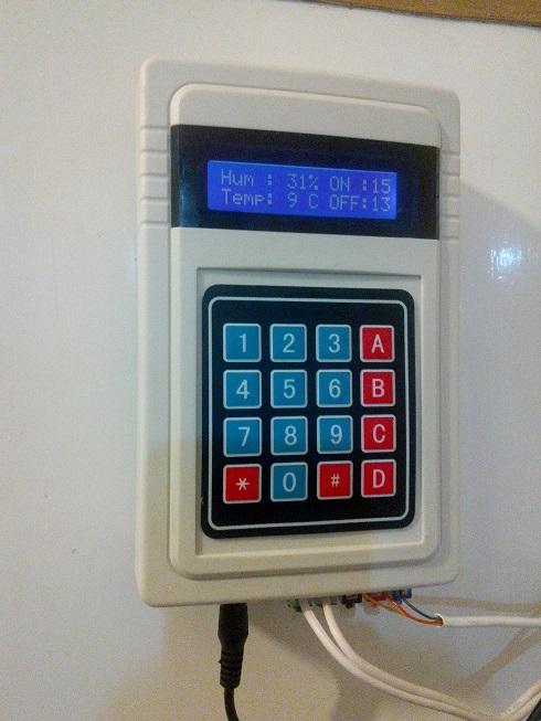 ترموستات الکترونیکی یخچال و فریزر با نمایشگر دیجیتالی