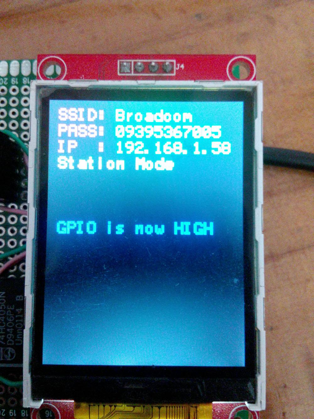 اتصال نمایشگر ۲٫۲ اینچ (ILI9341) به ماژول ESP8266 سری ۰۷