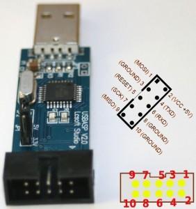 USBasp-pinout