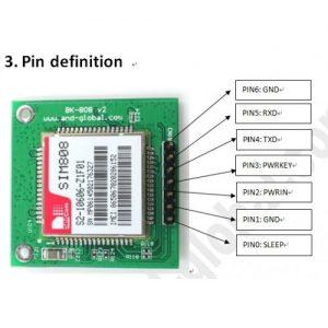 GPS با ماژول SIM808