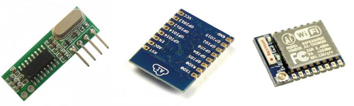 ذخیره ریموت کنترل (رادیویی) RF کدلرن در آردوینو و ESP8266