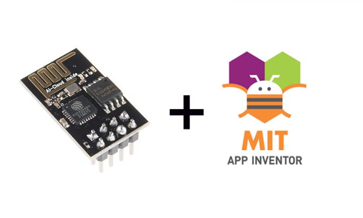 ارتباط با ماژول ESP8266 در اندروید بدون کدنویسی با App Inventor