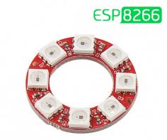 راه اندازی ماژول RGB هشت بیتی WS2812 با ESP8266