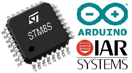 برنامه نویسی STM8 با زبان آردوینو (Arduino) در IDE IAR